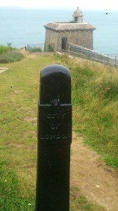 City of London bollard, Durlston Castle