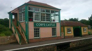 Signal Box, Corfe Castle
