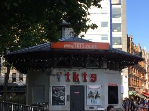 TKTS Half Price booth