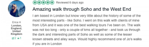Review of Soho walk on TripAdvisor