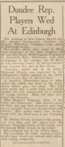 Dundee Evening Telegraph 20 August 1945