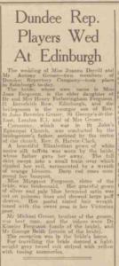 Dundee Evening Telegraph 20 August 1945