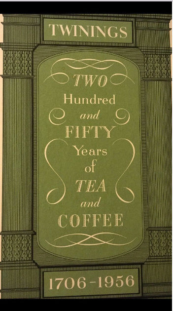 250 years of Twinings book