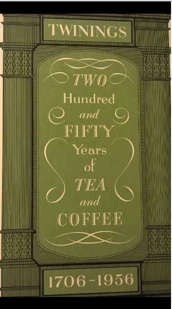 250 years of Twinings book