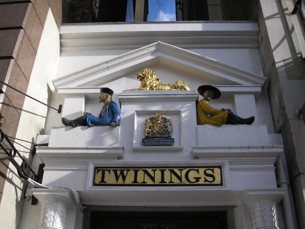 Twinings frontage