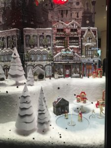 Regent Street Christmas window